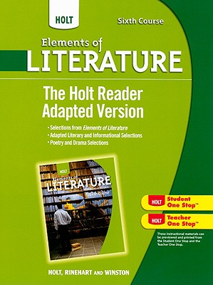 The Holt Reader Adapted Version, Sixth Course - Holt Rinehart & Winston (Creator)