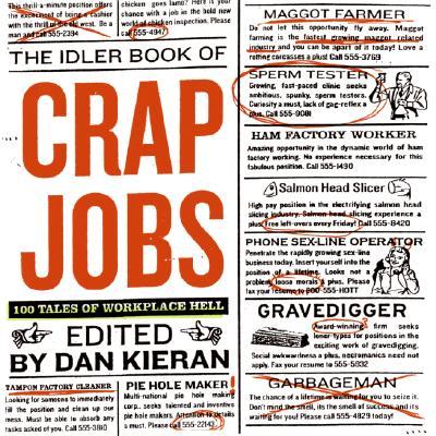 The Idler Book of Crap Jobs: 100 Tales of Workplace Hell - Kieran, Dan