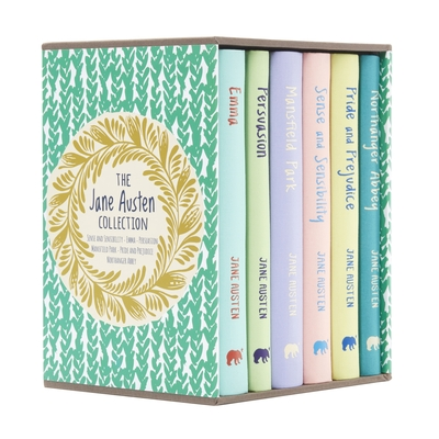 The Jane Austen Collection: Deluxe 6-Volume Box Set Edition - Austen, Jane