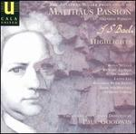 The Jonathan Miller Production of Bach's St. Matthew Passion (Highlights) - Adrian Butterfield (violin); Alan Preston (tenor); Alastair Hamilton (bass); Alicia Carroll (soprano);...