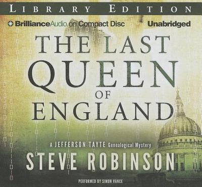 The Last Queen of England - Vance, Simon (Read by)