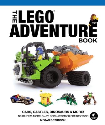 The Lego Adventure Book, Vol. 1: Cars, Castles, Dinosaurs & More! - Rothrock, Megan H