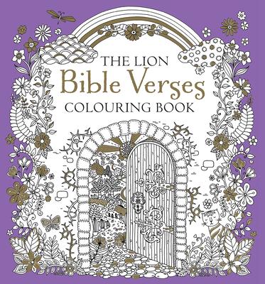 The Lion Bible Verses Colouring Book - Jackson, Antonia