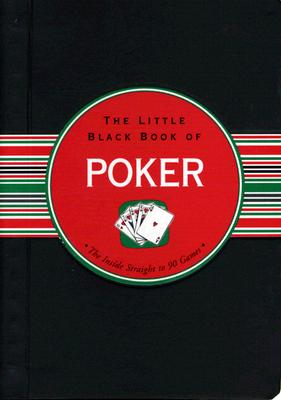 The Little Black Book of Poker - Hartley, John, Dr., and Barbas, Kerren (Illustrator)