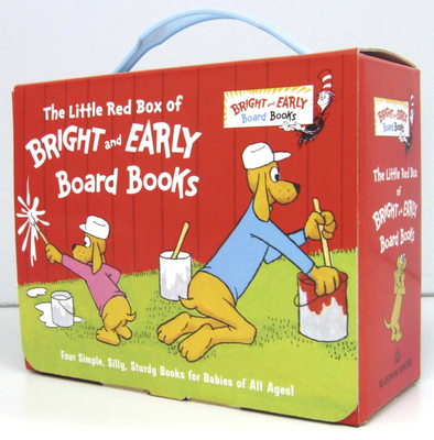 The Little Red Box of Bright and Early Board Books - Eastman, P D, and Frith, Michael