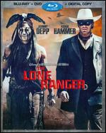 The Lone Ranger [2 Discs] [Includes Digital Copy] [Blu-ray/DVD] - Gore Verbinski