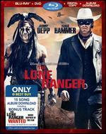 The Lone Ranger [Includes Digital Copy] [Blu-ray/DVD] [Album Download]