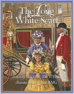 The Long White Scarf - Trottier, Maxine