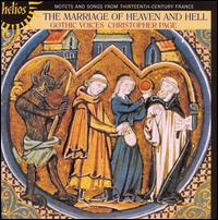 The Marriage of Heaven & Hell - Christopher Page (medieval harp); Leigh Nixon (tenor); Margaret Philpot (alto); Rogers Covey-Crump (tenor);...