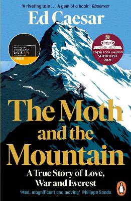 The Moth and the Mountain: A True Story of Love, War and Everest - Caesar, Ed