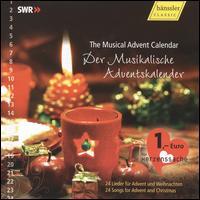 The Musical Advent Calendar - Adrian Nagel (viola); Albrecht Volz (vibraphone); Anze Ganzenmüller (soprano); Ariane Müller (piano); Barbara Comes (piano);...