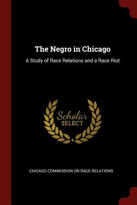 The Negro in Chicago: A Study of Race Relations and a Race Riot - Chicago Commission on Race Relations (Creator)