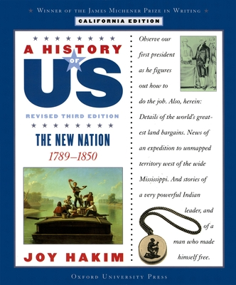 The New Nation: California Edition - Hakim, Joy, and Brooks, Diane L (Consultant editor)