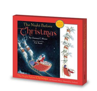 The Night Before Christmas Book and Ornament - Rand, Ted
