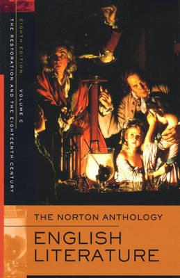 The Norton Anthology of English Literature - Greenblatt, Stephen (Editor), and Lipking, Lawrence (Editor), and Noggle, James (Editor)