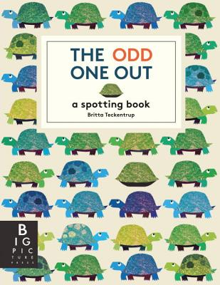 The Odd One Out: A Spotting Book -