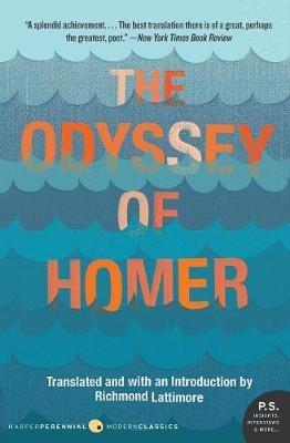 The Odyssey of Homer - Lattimore, Richmond, Professor