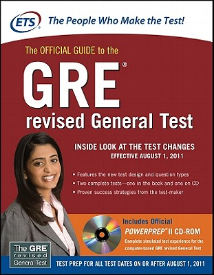 The Official Guide to the GRE Revised General Test - Educational Testing Service