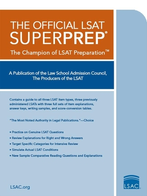 The Official LSAT SuperPrep - Law School Admission Council (Creator)
