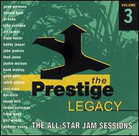 The Prestige Legacy, Vol. 3: The All Star Jam Sessions - Various Artists