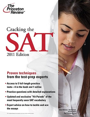 The Princeton Review Cracking the SAT - Princeton Review, and Robinson, Adam