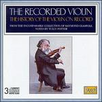 The Recorded Violin, Vol.1