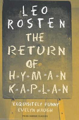 The Return of Hyman Kaplan - Rosten, Leo