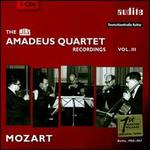 The RIAS Amadeus Quartet Recordings, Vol. 3: Mozart