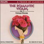 The Romantic Violin, Vol. 2: Famous Encores