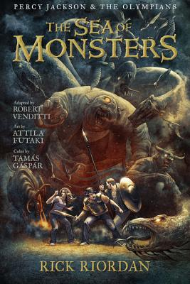 The Sea of Monsters: The Graphic Novel - Riordan, Rick