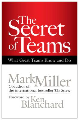 The Secret of Teams: What Great Teams Know and Do - Miller, Mark