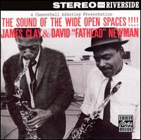 """The Sound of the Wide Open Spaces - James Clay with David """"Fathead"""" Newman"""