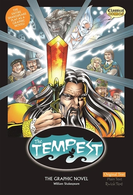 The Tempest the Graphic Novel: Original Text - McDonald, John (Adapted by), and Haward, Jon, and Bryant, Clive (Editor)