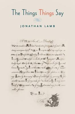 The Things Things Say - Lamb, Jonathan