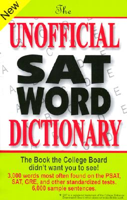 The Unofficial SAT Word Dictionary - Burchers, Sam, and Burchers, Bryan