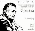 The Very Best of G�recki