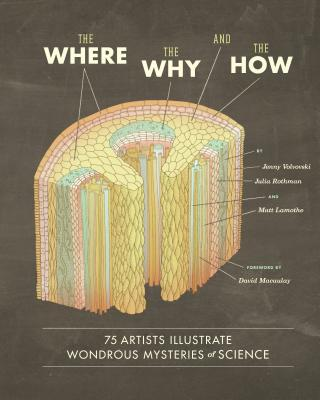 The Where, the Why, and the How: 75 Artists Illustrate Wondrous Mysteries of Science - Lamothe, Matt, and Rothman, Julia, and Volvovski, Jenny