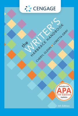 The Writer's Harbrace Handbook with APA Updates - Glenn, Cheryl, and Gray, Loretta