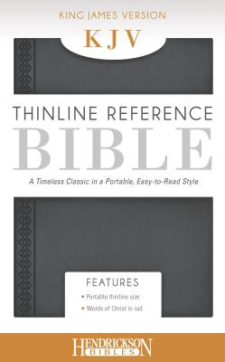 Thinline Reference Bible-KJV - Hendrickson Publishers (Creator)