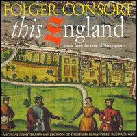 This England: Music From Time Of Shakespeare - Amanda Balestrieri (soprano); Ann Monoyios (soprano); Barbara Hollinshead (mezzo-soprano); Brent Wissick (viol);...