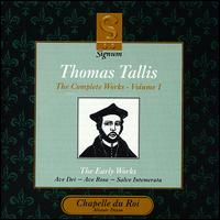 Thomas Tallis: Music for Henry VIII - Chapelle du Roi (choir, chorus)