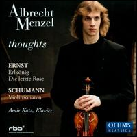 Thoughts - Albrecht Menzel (violin); Amir Katz (piano)