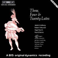 Three, Four and Twenty Lutes - Andrew King (tenor); Bill Badley (mandora); David Miller (bass lute); David Miller (lute); David Parsons (lute);...