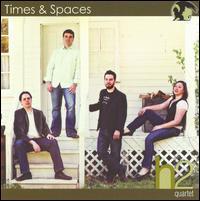 Times & Spaces - H2 Quartet; James Forger (saxophone); John Nichol (saxophone); Jon Weber (percussion); Joseph Lulloff (saxophone);...