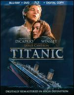 Titanic [4 Discs] [Includes Digital Copy] [Blu-ray/DVD] - James Cameron
