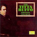Titta Ruffo-Volume III