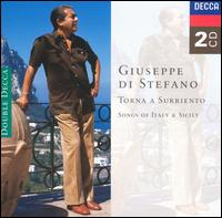 Torna a Surriento: Songs of Italy & Sicily - Giuseppe di Stefano (tenor); New Symphony Orchestra of London