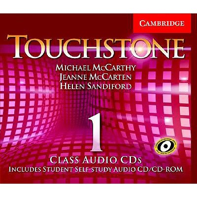 Touchstone Class Audio CDs 1 Class Audio CDs L1 (Pack 4) - McCarthy, Michael J, Professor, and McCarten, Jeanne, and Sandiford, Helen