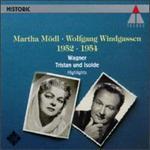 Tristan und Isolde Highlights - Johanna Blatter (vocals); Martha Mödl (vocals); Wolfgang Windgassen (vocals); Städtischen Oper Berlin Orchestra;...