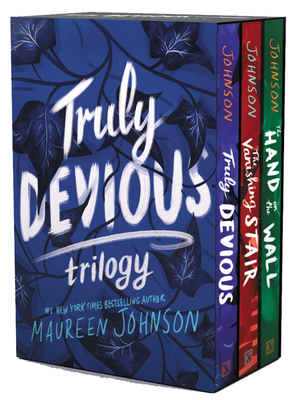 Truly Devious 3-Book Box Set: Truly Devious, Vanishing Stair, and Hand on the Wall - Johnson, Maureen